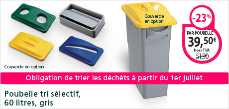 Poubelles tri slectif