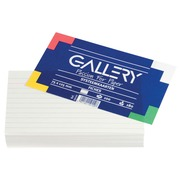 Gallery fiches blanches ft 7,5 x 12,5 cm, ligné