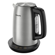 Philips Avance Collection HD9359 - Wasserkocher - metal/black brushed metal