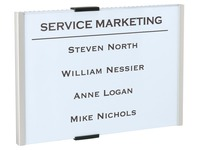 Plaque murale 15,5 x 21,5 cm Info Sign Durable