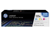HP 125A - CF373AM Pack de 3 toners couleurs