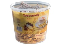 Karton mit 113 Mini Toblerone 8g Mix