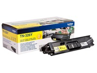 Brother TN326Y - jaune - original - cartouche de toner (TN-326Y)
