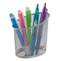Metal pencil holder Alba Mesh colour