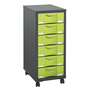 Mobile side cupboard Izo 6 drawers